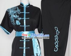 Global Championships Tournament Kung Fu Phoenix Embroidery Uniform  #111 - $195.00