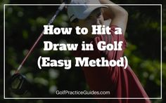 How to hit a draw in golf. Learn more swing tips and instruction by clicking the link. Be sure to share this!