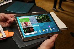 Tab S, tablet màn hình 2K đầu tiên trên thế giới http://bkonline.vn/tin-tuc/177-galaxy-tab-s-sieu-mong-nhe-sang.html