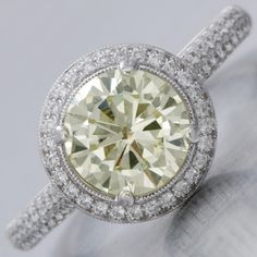 halo - YES PLEASE!! Yellow diamond oMg....