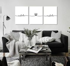 Triptico Inhale Gallery Wall, Frame, Diy Ideas, Home Decor, Paradise, Home Corner, Beds, House Decorations, Yurts