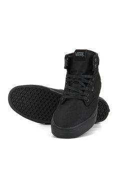 9c764a0c07a Buy Vans Winston Hi Black Sneakers Online - 3160707 - Jabong