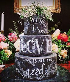Beautifully Embellished Wedding Cakes