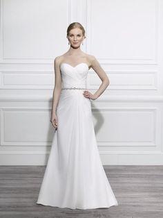 43073adbb4 Moonlight Tango T656 simple romantic chiffon pleated wedding dress Dressy  Dresses, Wedding Dresses For Sale