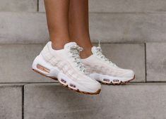 timeless design 29aa9 af2af Nike Air Max 95 OG  Guava Ice SailBrownWhite  Womens Trainers  307960-111 Nike Lifestyle