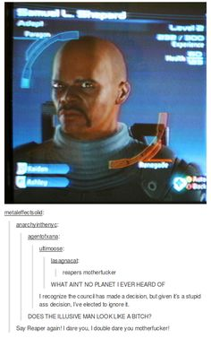 This is literally the best thing I have ever seen in my entire life. Mass Effect x Marvel