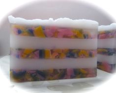 Sweetheart Valentine Soap-Strawberry frosting by SlickBathBody, $5.00