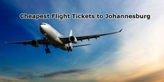 Johannesburg is an historical city especially for apartheid and you can always choose to visit it in off peak season to enjoy cheap flight ticket.