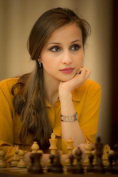 Georgian Chess Player Sopiko Guramishvili #PrettyGirls #girls #hot #sexy #love #women #selfie #friends