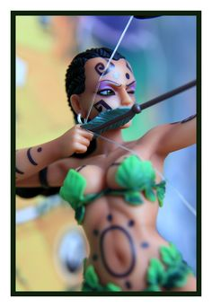 Small World Amazon Figure