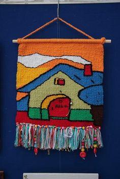 Navajo Weaving, Weaving Art, Tapestry Weaving, Loom Weaving, Weaving Designs, Weaving Patterns, Weaving Textiles, Woven Wall Hanging, Rug Hooking