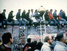 1989 Berlin Duvarı'nın Yıkılması