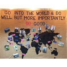 """""""oh, the places you'll go with Delta Gamma"""" bulletin board for recruitment."""