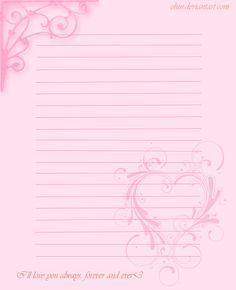 Valentine's Stationary by ohin.deviantart.com on @deviantART