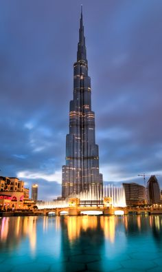 Burj Khalifa Tower, always stunning, Dubai, United Arab Emirates.
