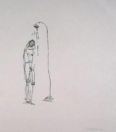 Sad Shower in New York (1995), Tracey Emin