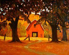 "Adam Noonan - Canadian Plein Air Painter,""Metchosen Medow"""