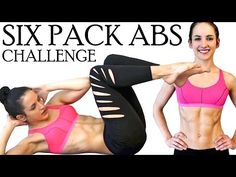 Abs of Fire Challenge Workout - Intense At Home Six Pack Exercise Routine - YouTube
