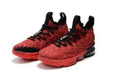 premium selection 6eb2d db112 Where To Buy Nike LeBron James 15 XV Red Black Nike LeBron 15 For Sale  Lebron