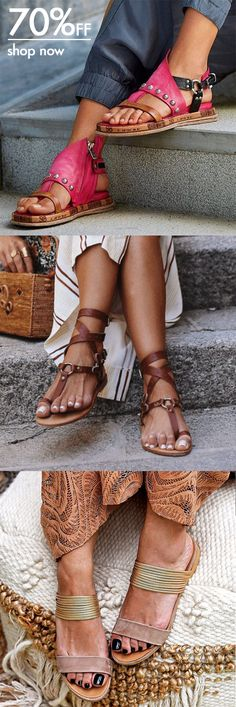 SHOP OFF Vacation Sandals Shoes Picks for You.Must Have Pair! Casual Office Wear, Casual Shoes, Cute Shoes, Me Too Shoes, Shoe Boots, Shoes Sandals, Flats, Mode Style, New Shoes