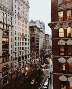 street lights, big dreams all looking pretty.