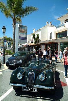 Luxury cars in Puerto Banus, Marbella