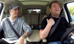 Justin Bieber and James Corden cover 'Ironic,' go shopping in 'Carpool Karaoke'
