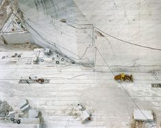 Industrial Landscape:Those cracks in your face, do they hurt? - but does it float