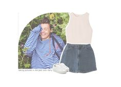 """""""taking pictures in the park with harry"""" by canyoupleaselouis ❤ liked on Polyvore featuring SemSem, Wrangler, Puma and canyoupleaselouissets"""