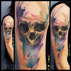 Orlando Tattoo Artist - Russell | Hart and Huntington Orlando Watercolor