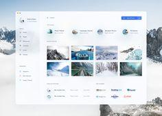 Travel App by Shekh Al Raihan ✪ on Dribbble Web Dashboard, Ui Web, Dashboard Design, Student Dashboard, App Ui Design, Interface Design, Design Web, User Interface, Graphic Design