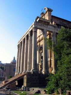The Temple of Antoninus and Faustina ,Rome, Italy