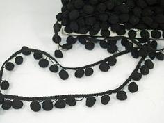 Taśma pomponiki czarne 1mb / 6zł Crochet Necklace, Jewelry, Fashion, Moda, Jewlery, Crochet Collar, Bijoux, La Mode, Jewerly