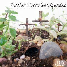 DIYShowOff Easer succulent garden