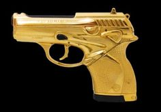 Limited Edition Gold Plated Beretta Gun to mark 50 years of James Bond | Pursuitist
