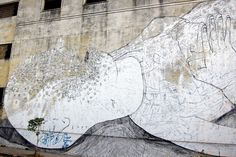 Mural by Blu, Buenos Aires
