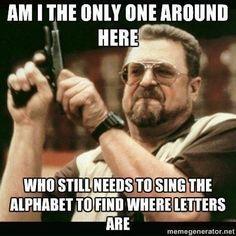I do this haha