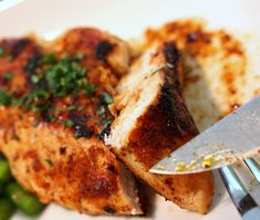 [RECIPE] Chicken Breasts with Spicy Rub and Chicken Breast Safety Tips