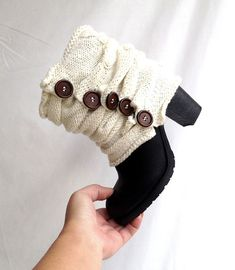 Hey, I found this really awesome Etsy listing at https://www.etsy.com/listing/208644805/knitted-boot-cuffs-botton-boot-socks
