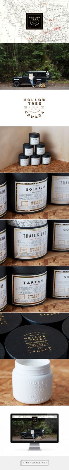 Hollow Tree Candle Packaging by Arithmetic | Fivestar Branding Agency – Design and Branding Agency & Curated Inspiration Gallery