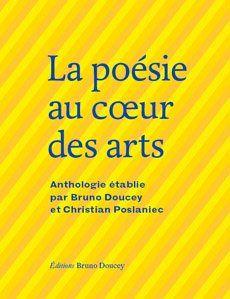 """L'anthologie """"au coeur des arts"""" coéditée avec Bruno Doucey"""