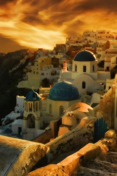 Santorini, Greece.  I was there recently and will definitely go again soon!  #monogramsvacation