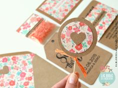 Invitaciones de boda| Wedding Stationery: Kraft + pattern flores