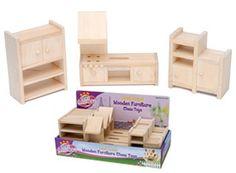 Wooden furniture hamster chews, sooo cutteee!