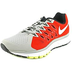 official photos 4f8d2 7718a Nike Mens Air Zoom Vomero Running Shoes Base GreyWhiteLight CrimsonVolt 8  ExtraWide     Visit