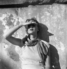 un-air-d-autrefois: Genevieve Naylor, Woman, Rome, 1952