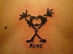 Pearl Jam tattoo More