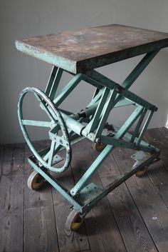 Antique myers cloverleaf surelock unloader hay trolley - Table console ancienne ...