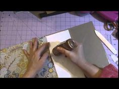 Tutorial Thursday Part 1-  Covers & Binding - Anchor Album
