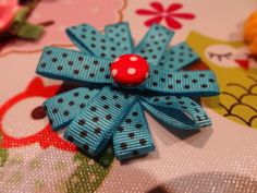 Image for Hair Clip - Folded Ribbon Flower DIY Craft Project